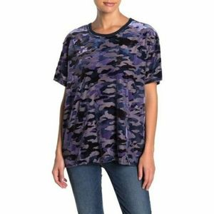 Nwt | free people burnout camo t shirt